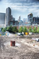 Chicago Spire the beginning: I by spudart