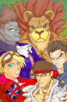 Capcom Fighting Game Tribute by mhopkins0819