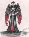 Gothic Angel by Draconic-Goth