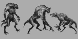 Quick Werewolf Paints by Takumer