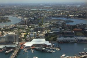 Aerial view of SydneyT by vprima14