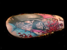 the goon tattoo by mrstaggerlee