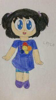 FNAF Missing children- Layla by Cilialove3
