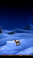 ~Christmas Town Study - Arctic Wilderness7~ by Nk-Cyborg