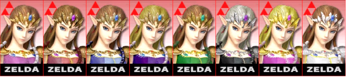 SSB4: Zelda Comtuse (3Ds Player) by TheZeldaFan22