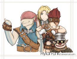 Brothers by Hylian-Link