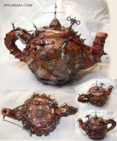 Steampunk Teapots! by marilm