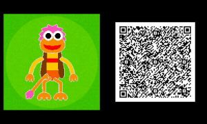 Freakyforms: Gobo Fraggle QR Code by nintendolover2010