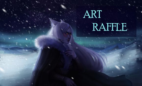 ART Raffle Closed by HumelenVaen