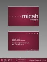 Business Cards by micah-dj