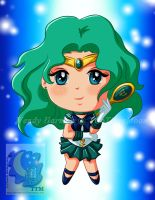 Chibi Sailor Neptune by TwoTigerMoon