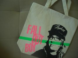 Fall Out Boy tote by estranged-illusions