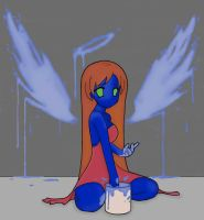 Paint your wings lineart by Destinyblue by Sevslover6195