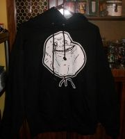 forever alone jacket by Pheel-my-Phil