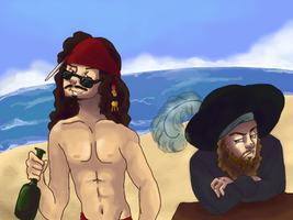 Welcome to the Caribbean by wolf-pirate55