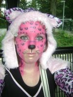 Pink Leopard! by VlinderButterfly
