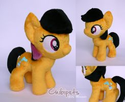 Prokchip Oc custom plush by Chibi-pets