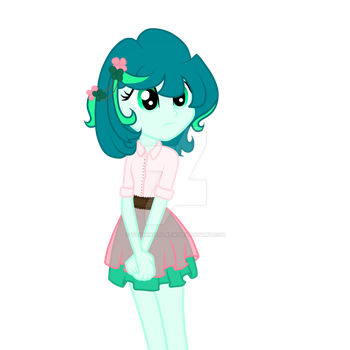 Emerald Bouquet [Art Trade] by tailinr1lolnew