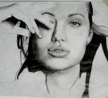 Angelina Jolie by claudaladywizard