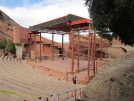Red Rocks Amphitheater Stage by eon-krate32