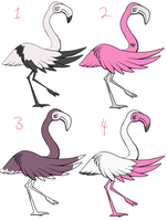 Flamingo Adoptables CLOSED by Parroti