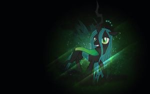 The Mighty Queen Chrysalis. by CrystaHedgefox444