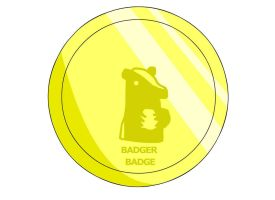 Badger Badge by RyuPointGame