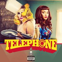 Lady Gaga feat. Beyonce Telephone CD COVER by GaGanthony