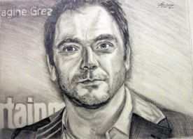 Mark Sheppard aka Crowley from 'Supernatural.' by Anita-Sanderson