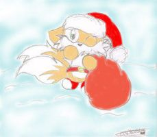 christmas Tails2 by TailsFanclub