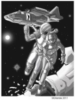 Deep Space Rescue by RedShoulder