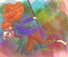 INTO THE OPEN AIR - JACK FROST x MERIDA by thisistiffania