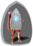 Iron man Classic Colors by Defy-Gravity-42