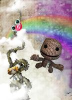 LBP2-LevelKlod with Ms.Vines by januscastrence