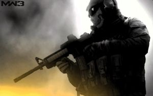 MW2 Ghost Wallpaper by Squall-Darkheart