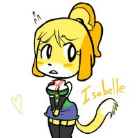 Isabelle - Colored by DanThelVlan