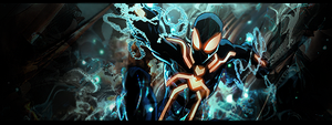 tron-spiderman by cliffbuck