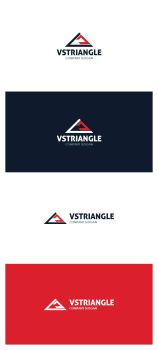 VS Triangle Logo by AlinDesign