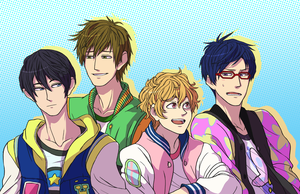 Free! Iwatobi Swim Club by RoughReaill