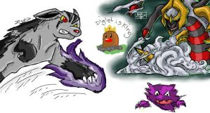 iscribble pokemonz by Gie