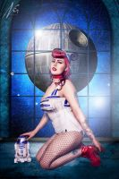 Star Wars Pin-up by falt-photo
