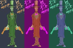 Abe Lincoln Color Tests 1 by jusscope