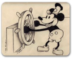 Steamboat Willie by Insanemoe