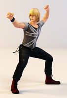 Eliot 3DS Render by x2gon