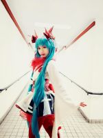 Mt. Fuji Miku Cosplay by SNTP