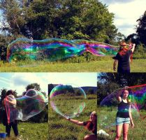 Giant Bubbles! by AngelaRizza