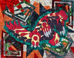 Primeval Groudon by Macuarrorro