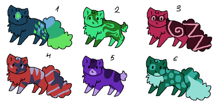 3 Point Cat Adopts (open) by XxBirchTreexX