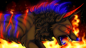 I rule the fire by Velkss