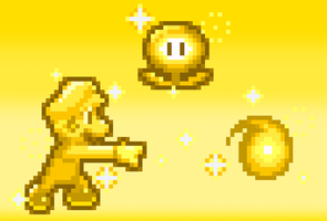 MLSS Golden Mario Preview. by PxlCobit